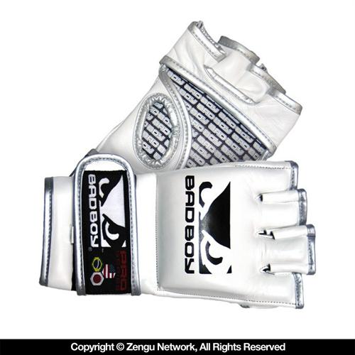 Bad Boy Bad Boy Pro Series White MMA Gloves